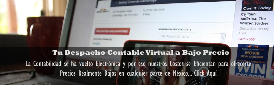 Tu Despacho Contable Virtual a Bajo Precio